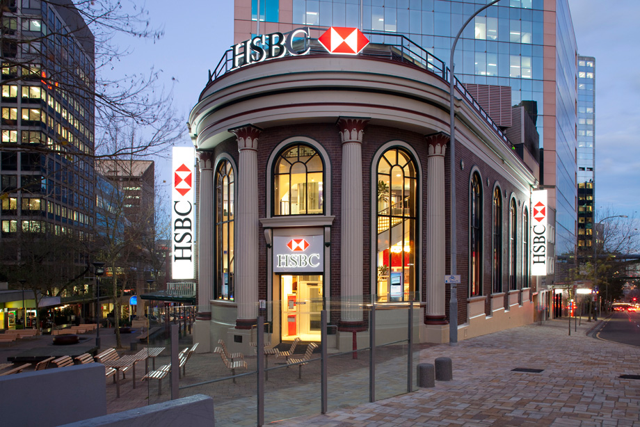 HSBC Flagship Store, Sydney – Incorp